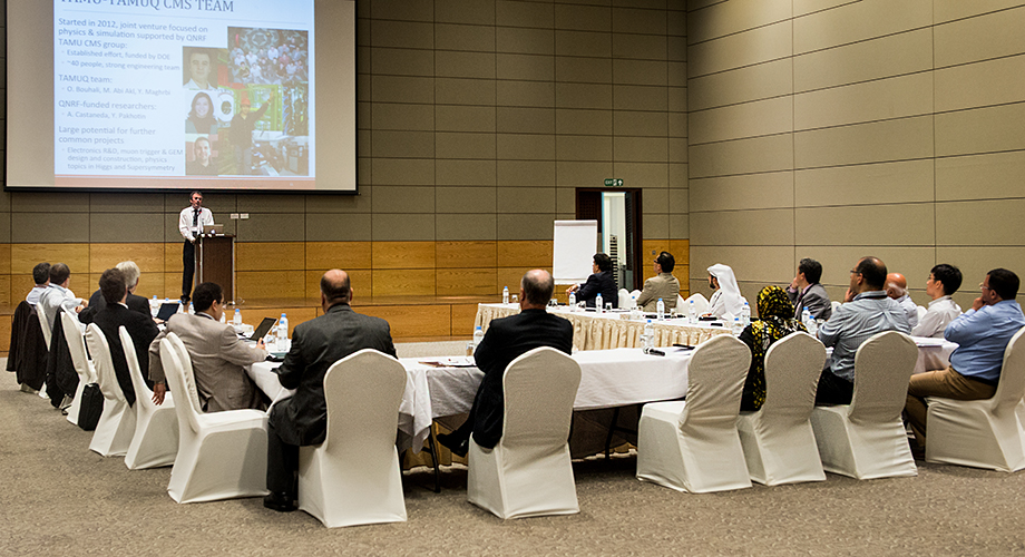 CERN-Qatar Workshop at A&M University Qatar